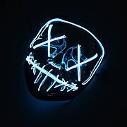 """Уникальная светодиодная маска, светящаяся в темноте маска из фильма """"Cудная ночь 3"""""""