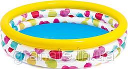 Детский надувной бассейн 168х38 см