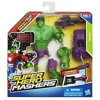 Разборная фигурка супергероя Халк с оружием - Hulk Firing Smash Missile, Mashers, Marvel, Hasbro - 138267