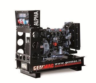 Дизельный генератор Genmac Alpha G30 DO (24 кВт)