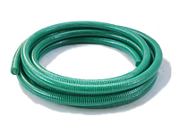 Гофра вакуумная напорно-всасывающая зеленая Ø 75 мм. 25 м. ТМ Evci Plastik