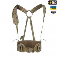 M-Tac пояс тактический с плечевыми ремнями Scout Multicam
