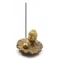 """Подставка для благовоний """";Будда"""";(13х13х9 см) Код:32184"""