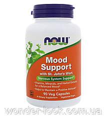 Now Foods, Вітаміни для підтримки нервової системи і гарного настрою, 90 капсул вегетаріанських
