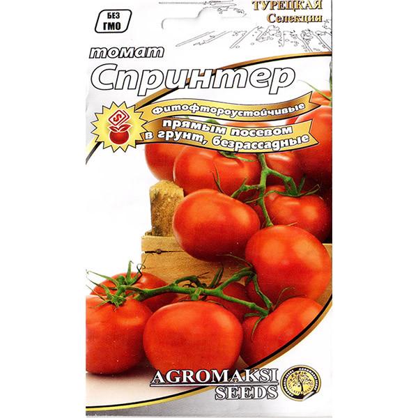 """Семена томата ультрараннего, низкорослого, безрассадного """"Спринтер"""" (0,4 г) от Agromaksi seeds"""