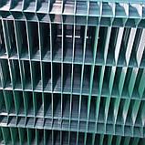 Секція 3D, осередок 60х200, Ø 4 (3,8) мм, 1,5 х2,5, в полімерному покритті, фото 2