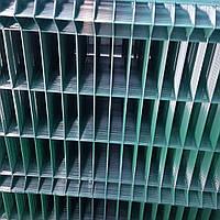 Секция 3D, ячейка 60х200, Ø 4 (3,8) мм, 1,5 х2,5, в полимерном покрытии, фото 1
