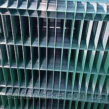 Секція 3D, осередок 60х200, Ø 4 мм, 1,2x2,5, в полімерному покритті