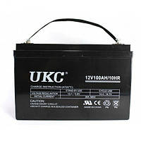 Гелевый аккумулятор UKC Battery Gel 12V 100A PD