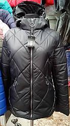 Женская демисезонная яркая куртка