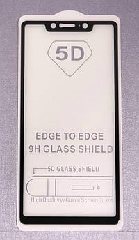 Защитное стекло 5D Xiaomi Mi 8 SE Black