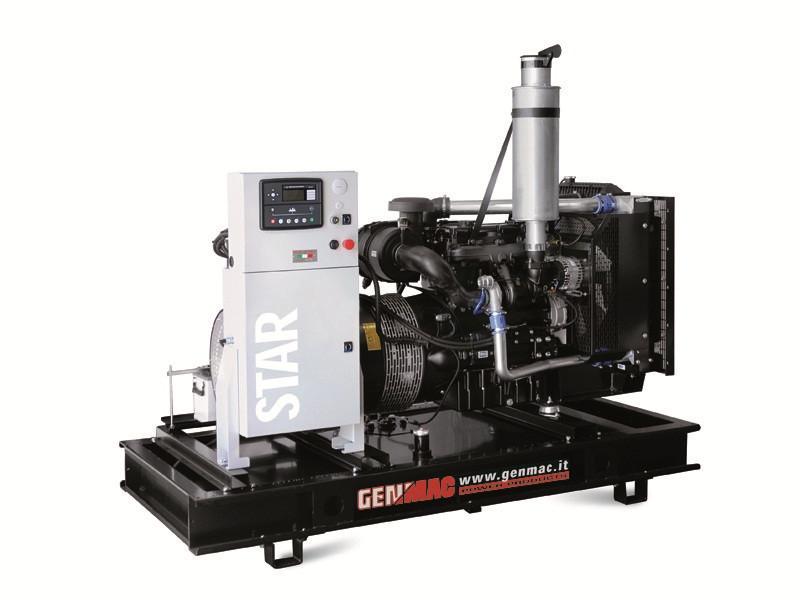 Трехфазный дизельный генератор Genmac Star G250 DO (220 кВт)