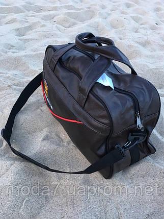 Спортивная сумка Porsche коричневая реплика, фото 2