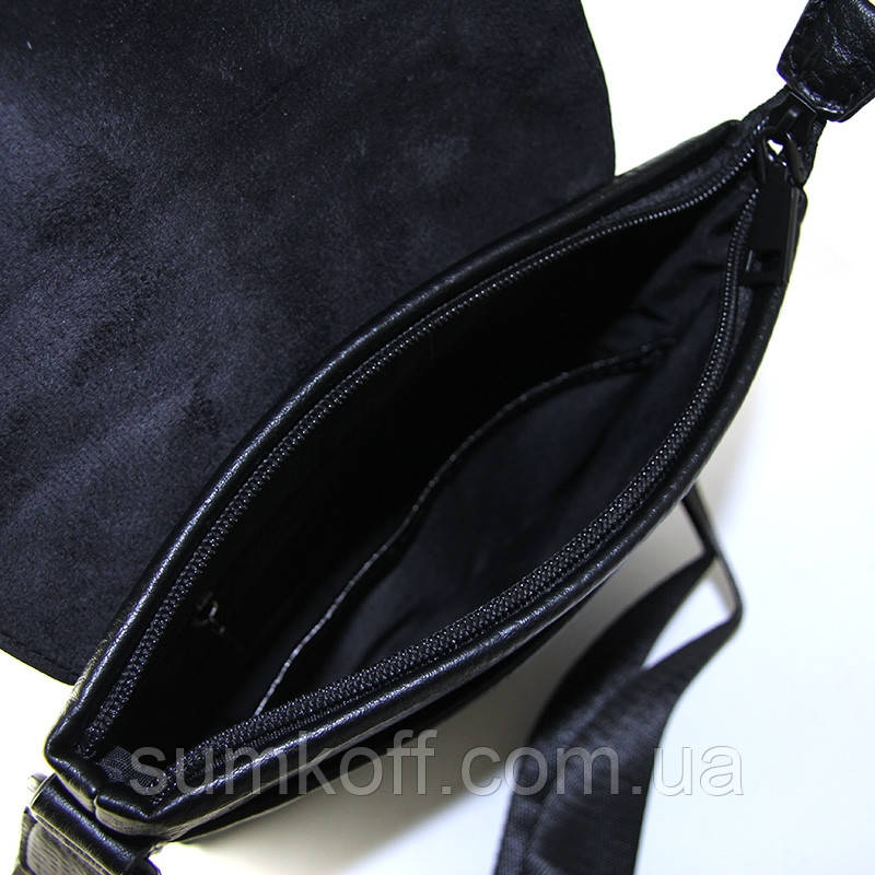 a728a0e42a5a Мужская черная сумочка Armani вертикальная через плечо arm-3610-3, цена 696  грн., купить в Днепре — Prom.ua (ID#901835318)