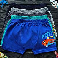 Детские трусы боксеры для мальчика Nicoletta (возраст: 5-6) 30556 | 5 шт.