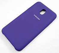 Чохол Silicone Case Cover Samsung Galaxy J7 J737 (2018) фіолетовий
