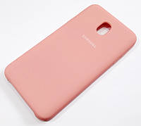 Чохол Silicone Case Cover Samsung Galaxy J7 J737 (2018) рожевий