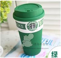 Керамическая чашка Starbucks Ecocup green VZ