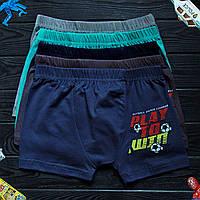 Детские трусы боксеры для мальчика Nicoletta (возраст: 12-13) 30340 | 5 шт.