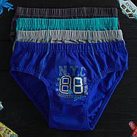 Детские трусы плавки для мальчика Nicoletta (возраст: 12-13) 30525 | 5 шт.