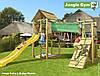 Детская площадка Джангл Джим Cabin Bridge