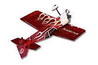 Самолёт на радиоуправлении Precision Aerobatics Addiction 1000мм KIT. красный - 139851