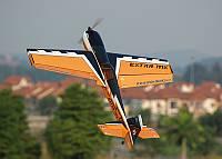 Самолёт на радиоуправлении Precision Aerobatics Extra MX 1472мм KIT. желтый - 139837