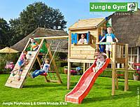 Детская площадка Джангл Джим Playhouse L Climb, фото 1