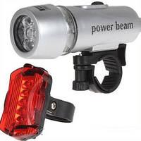 Велосипедный фонарик (фара) Power beam