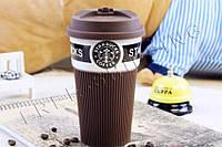 Керамическая чашка Starbucks Ecocup brown VZ