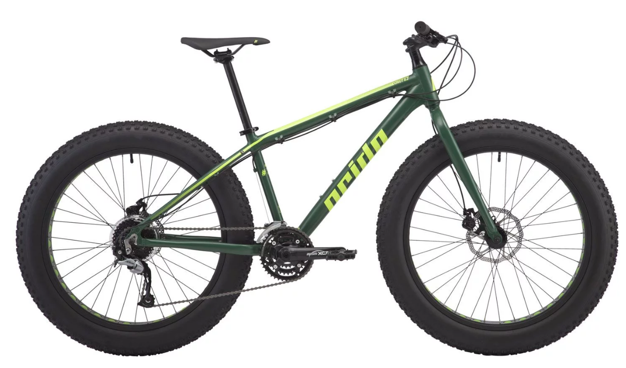 "Велосипед PRIDE DONUT 6.2 26"" 2018 зеленый"