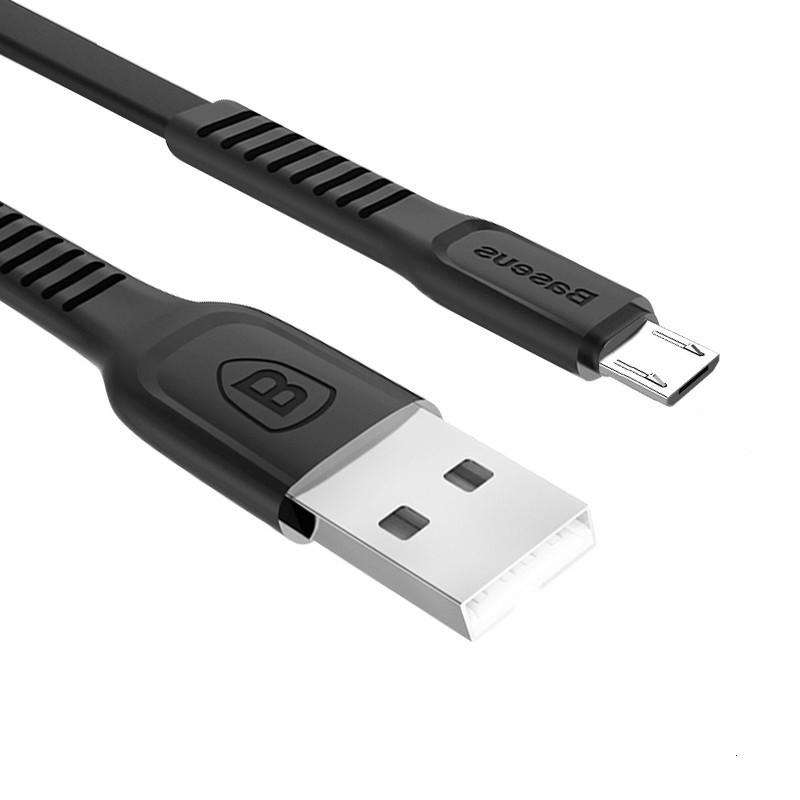 Кабель быстрой зарядки Baseus Micro USB 2A Black, длина - 100 см. (CAMZY-B01)