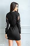 Спортивное платье с прозрачными вставками, фото 4