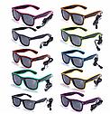 Очки светодиодные  солнцезащитные El Neon ray purple неоновые, фото 3