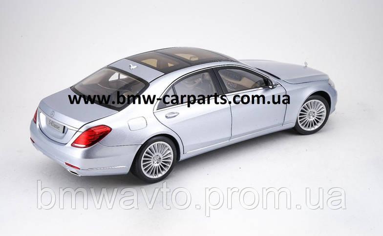 Модель Mercedes-Benz S-Class, Saloon, Diamond Silver Metallic, 1:18 Scale, фото 3