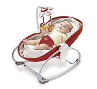 Универсальное кресло-кроватка-качалка 3 в 1 Мамина любовь, Tiny Love (красное)