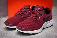 Кроссовки мужские  Nike Air Presto, бордовые (13292),  [  42 44 45  ]