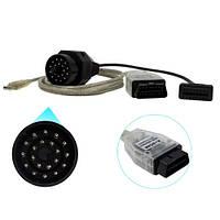 K+DCAN INPA USB сканер диагностики авто для BMW + 20pin переходник # 10.00722