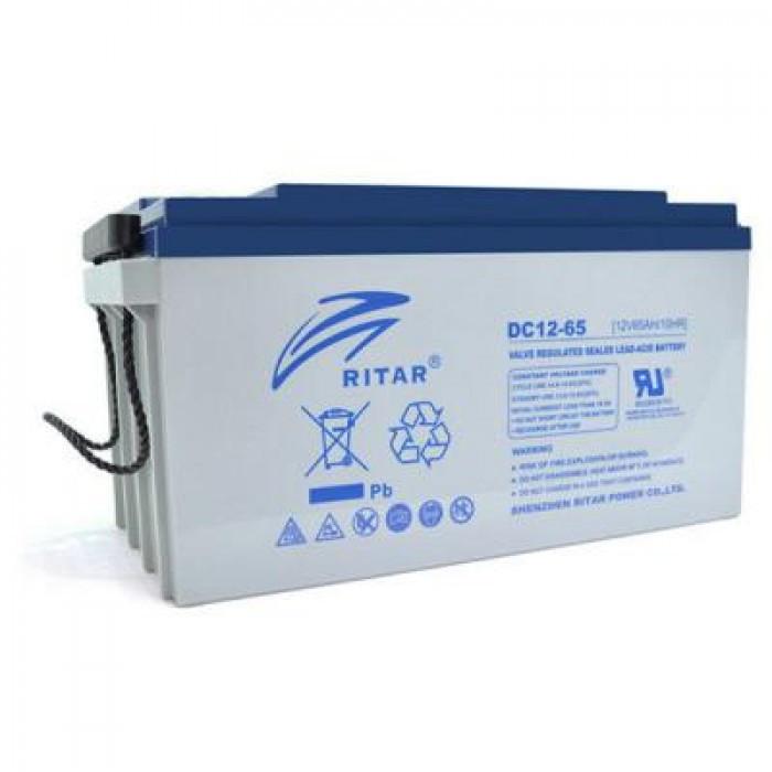 Аккумулятор для ИБП Ritar AGM DC12-65, 12V-65Ah (DC12-65)