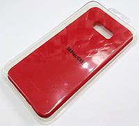 Чехол для Samsung Galaxy S8 Plus g955 силиконовый Molan Cano Jelly Case матовый красный
