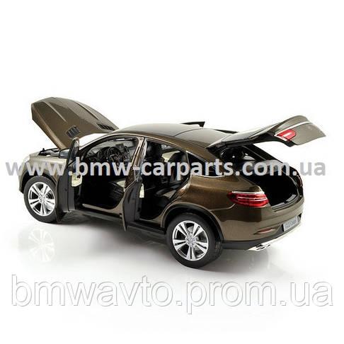 Модель Mercedes-Benz GLE Coupe (C292), Citrine Brown Metallic, 1:18 Scale, фото 2
