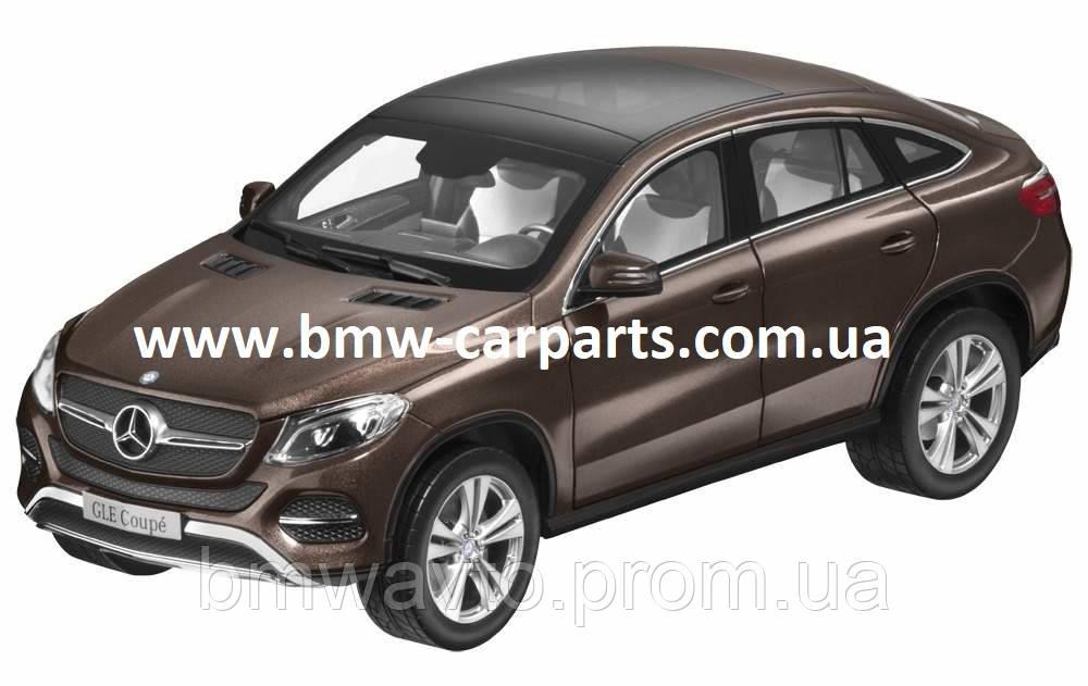 Модель Mercedes-Benz GLE Coupe (C292), Citrine Brown Metallic, 1:18 Scale