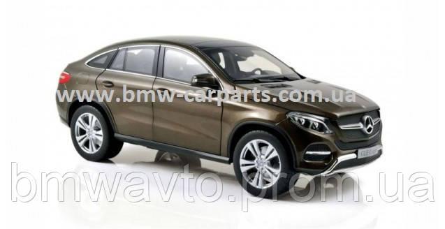 Модель Mercedes-Benz GLE Coupe (C292), Citrine Brown Metallic, 1:18 Scale, фото 3