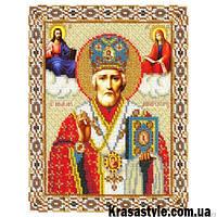 Алмазная вышивка Икона Николай чудотворец