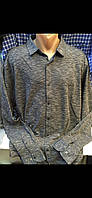 Турецкие мужские рубашки с длинным рукавом больших размеров Тафт Амато , фото 1