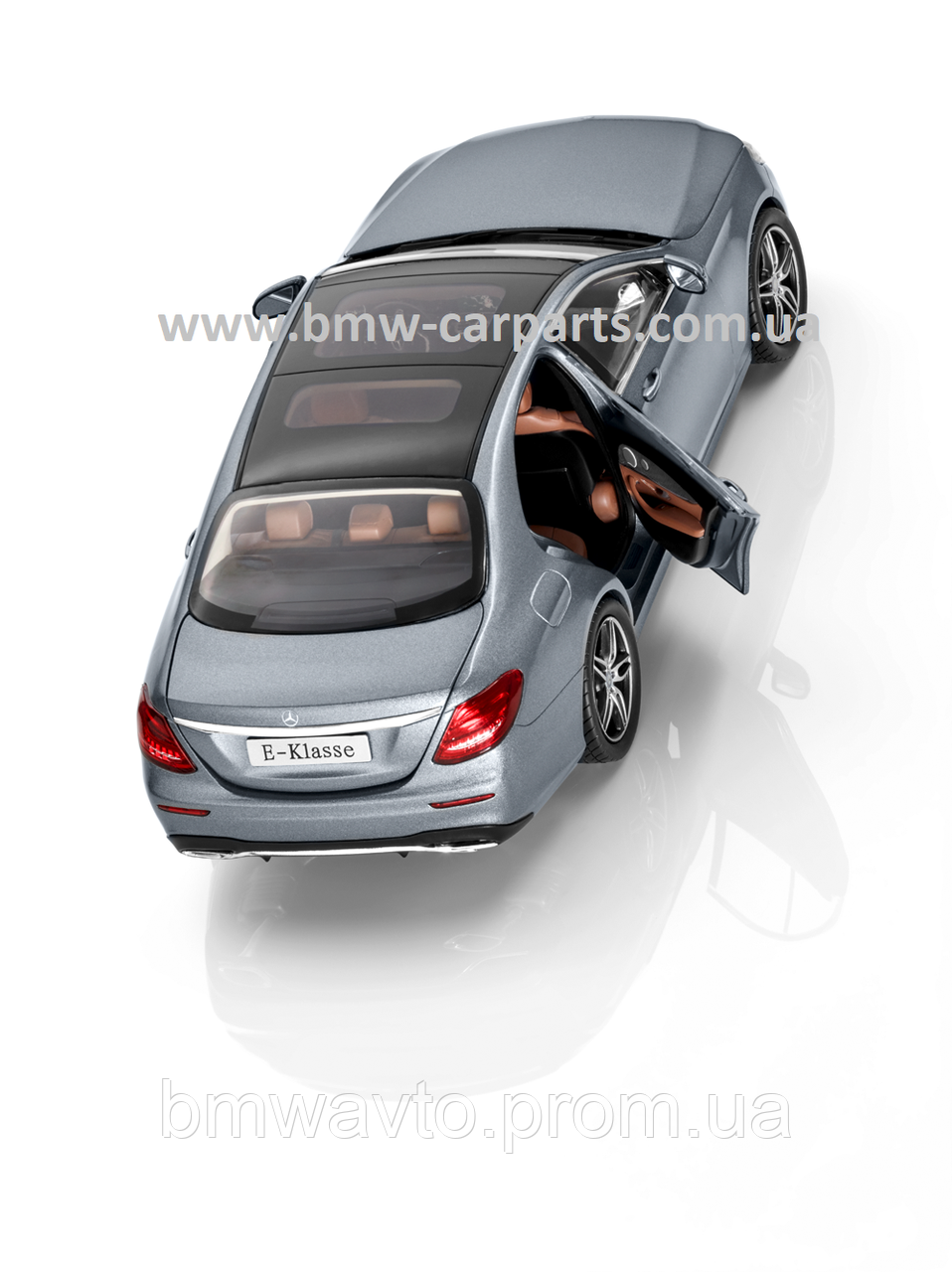 Модель Mercedes-Benz E-Class, AMG Line, Designo Selenite Grey Magno, 1:18 Scale