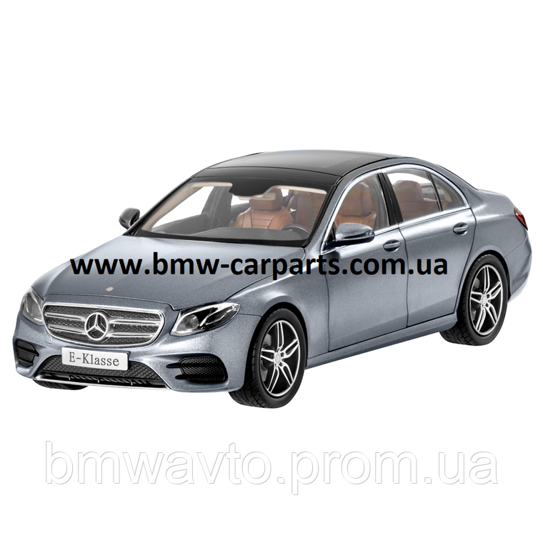 Модель Mercedes-Benz E-Class, AMG Line, Designo Selenite Grey Magno, 1:18 Scale, фото 2