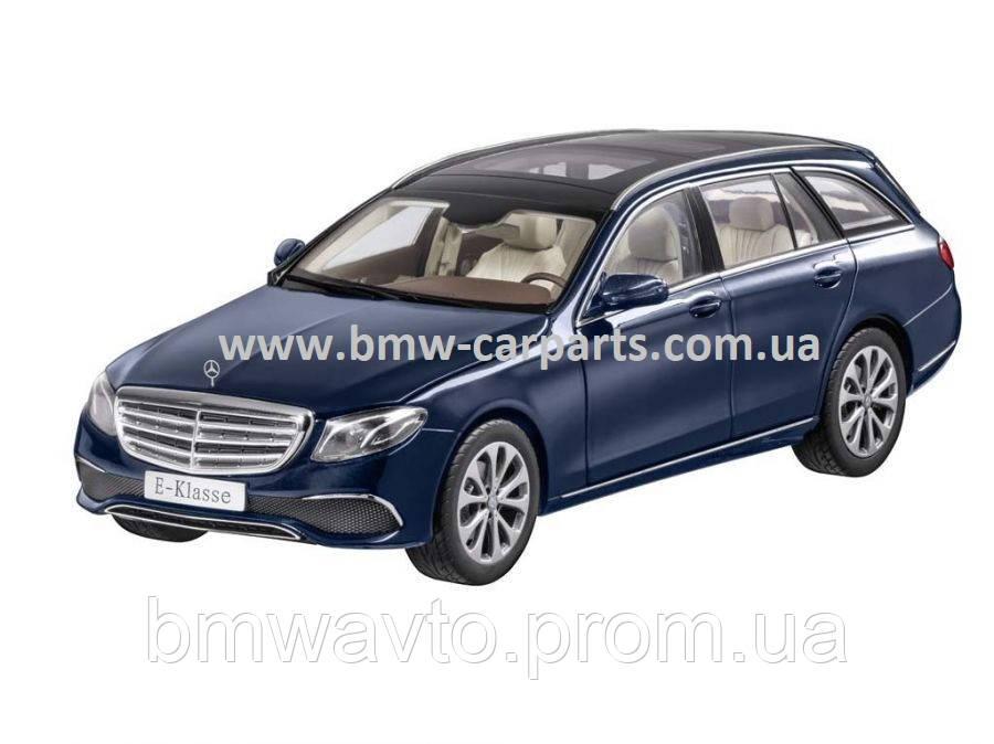Модель Mercedes-Benz E-Class, Estate, Exclusive, Cavansite Blue, 1:18 Scale