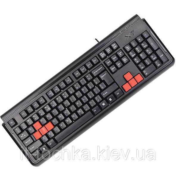 Игровая клавиатура a4 tech x7-g300 usb black