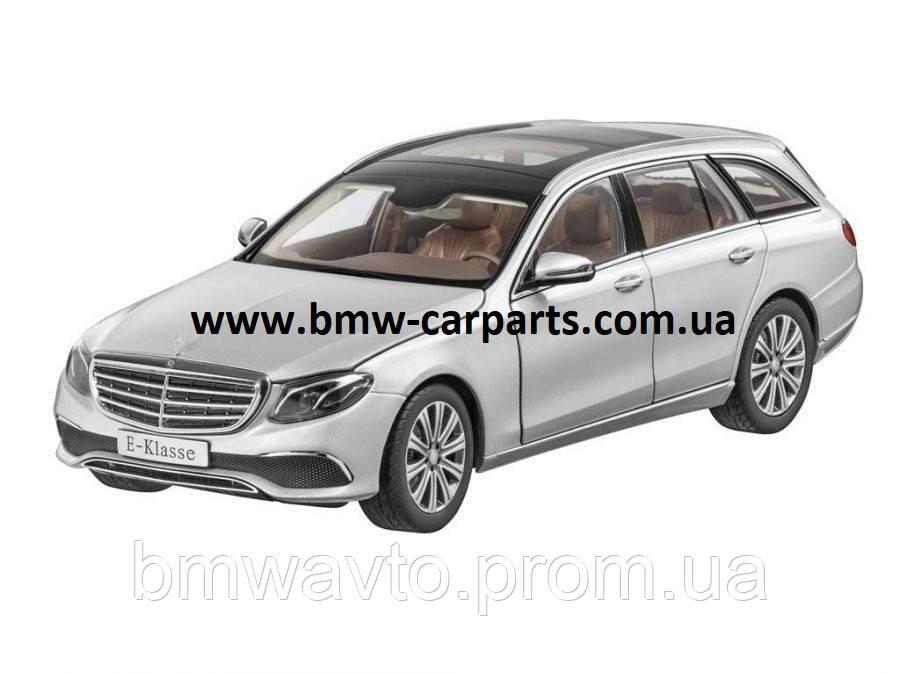 Модель Mercedes-Benz E-Class, Estate, Exclusive, Iridium Silver, 1:18 Scale